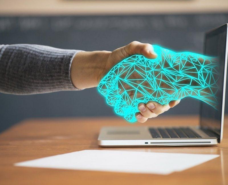 technology, hands, agreement